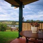 View from back verandah