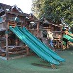 the Jungle Lodge playground