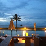 View from Pantai restaurant - one of several at the Empire