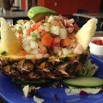 Amazing fish ceviche