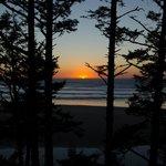 Sunset from inn