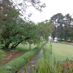Topiary Plants & well maintained grounds.