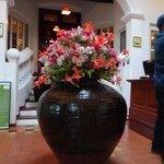Flower Decor at Reception .