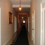 Hallway hanted by little boy