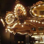 the Haunted Carousel Bar - it rotates