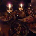 Banquete para la cena! excelente!