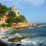 знаменитая крепость Ллорет-де-Мара