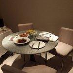 Dinning Area in Deluxe Allure Suite