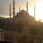View from Alzer Rooftop.. Amazing. Blue mosque
