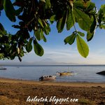 Morning at sanur