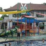 New kids pool area