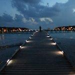 Bridge to water-villas