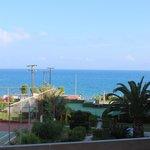 Эгейское море- вид с балкона