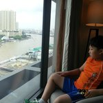 Son to see the view from room