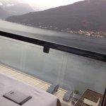 Vista lago dal ristorante