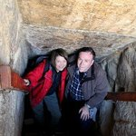 Red Pyramid entrance to burial chamber