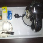 tea/coffee maker in rooms*