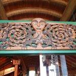 Maori carving.