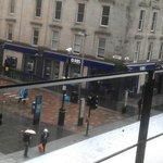 2nd Floor Restaurant Views - Sauchiehall St at the RBS sign