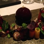 Start: Fois Gras - OMG: BEST EVER !! The presentation was a masterpiece of its own !!
