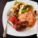 Rice and Tandoori at Phosphorus Restaurant, Club7