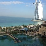 view of Burj al Arab from room