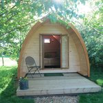 Glamourous Camping pods