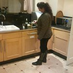 very spacious kitchen fully kitted out even with an ice machine