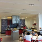 Buffet Breakfast at the Ground Floor Dining Area