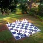 Chess by the Lawn