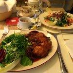 Bavarian chicken salad
