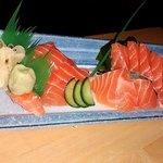 Salmon Sashimi, yum!