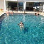 Água bem quentinha!