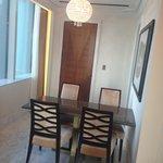 St regis suite: dining area