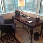 St regis suite: study table