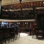 Indoor Area of Double Decker Pub