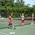 Private and group tennis lessons
