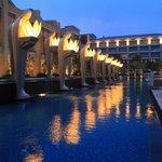 Pool of Mulia Resort