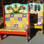 Mexican benches