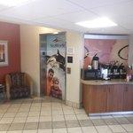 Café dans le lobby - 24 janvier 2014.