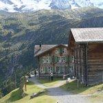 Oberstenberg-Main Lodge left, Annex on right