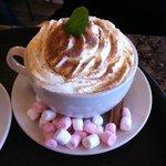 hot chocolate Parisien... mmm...