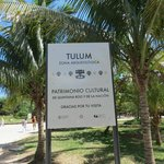 Zona arqueologica Tulum