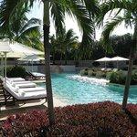 Inland pool - very quiet
