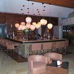 Bar at dusk