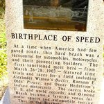 Just to prove Ormand Beach was the Birth place of Speed