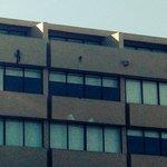 Shattered façade