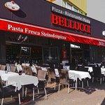 Belluccis Sommer Terrasse
