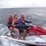 the jet-ski ride, great fun!