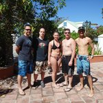 our group with our divemaster